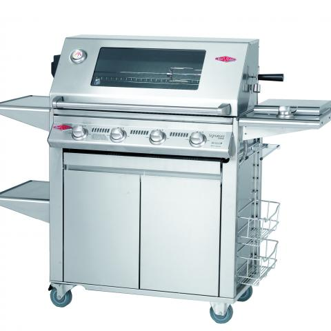 Clifton Nurseries Signature Plus 4 Burner and Cabinet Trolley