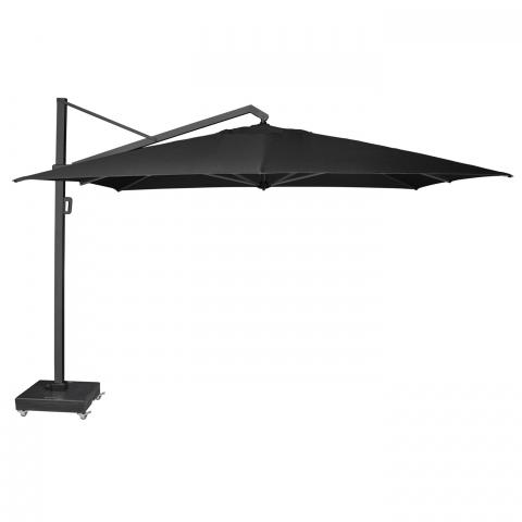 Clifton Nurseries Alexander Rose 3.5 meter Square Cantilever Parasol UH35CHLarge - Charcoal