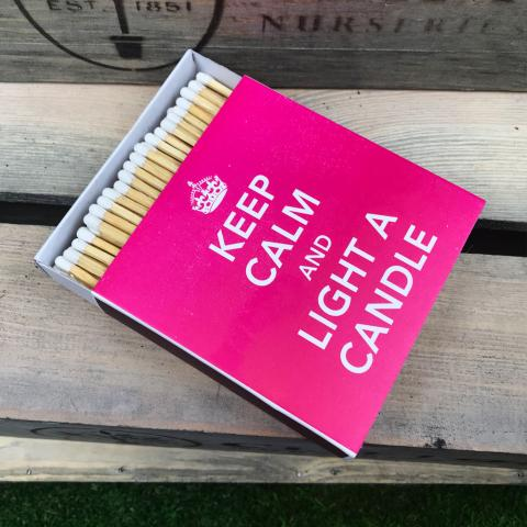 Clifton Nurseries Keep Calm Luxury Matches
