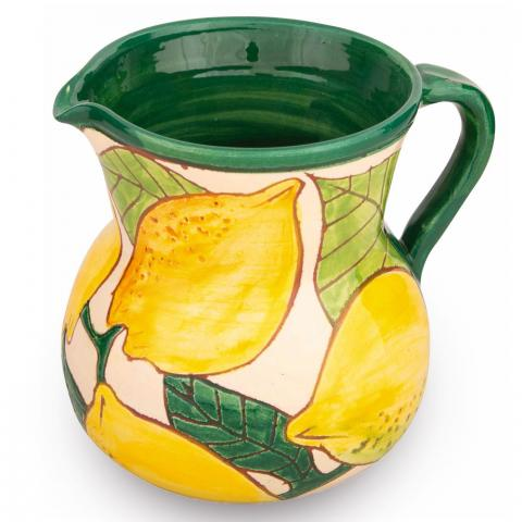 Clifton Nurseries Verano Spanish Ceramics Lemons – Small Jug