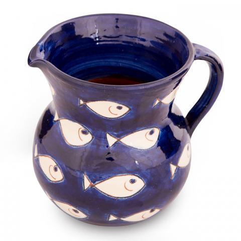 Clifton Nurseries Verano Spanish Ceramics White Fish – Small Jug