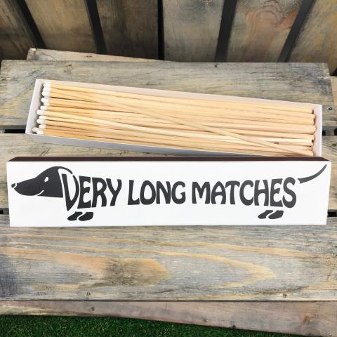 Clifton Nurseries Very Long Matches Dachshund design