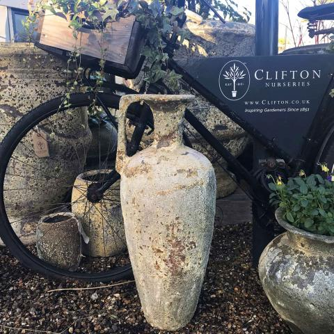 Clifton Nurseries Wine Pitcher in Salvage