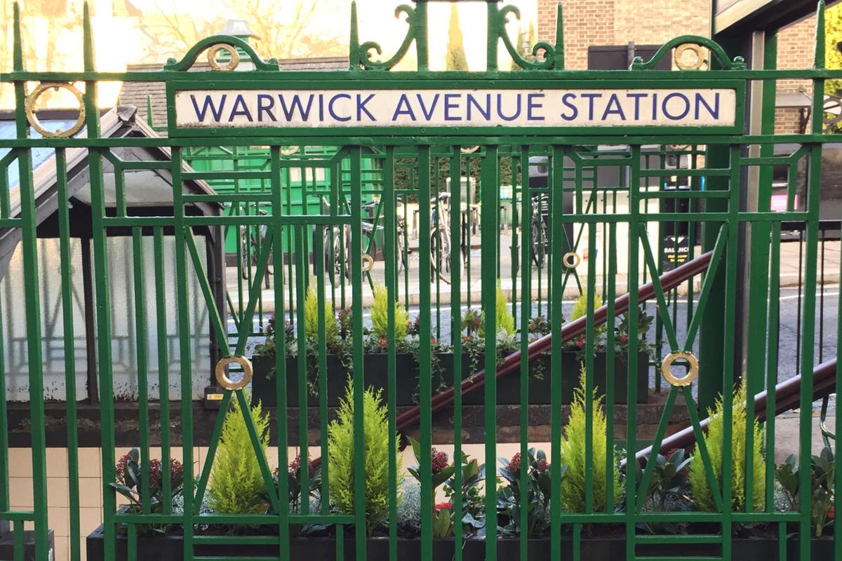 Greening up Warwick Avenue Station